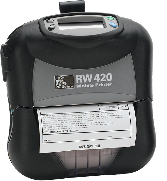 "Image of the Zebra RW420 4"" Printer"