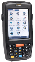Image of the Janam XP30 Rugged Handheld Computers