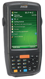 Image of the Janam XM66 Rugged Handheld Computers