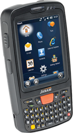 Image of the Janam XT85 Rugged Handheld Computers